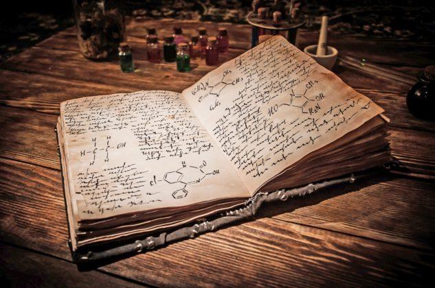 книга по алхимии