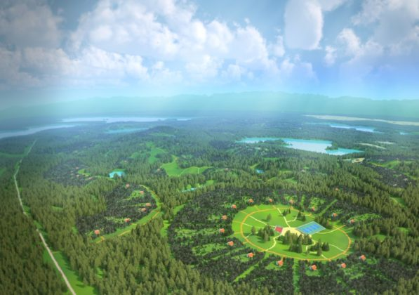 Ландшафтно-усадебная урбанизация